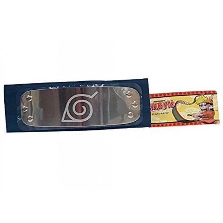 Hidden Leaf Village Headband (Naruto Shippuden Leaf Village Licensed Cosplay Headband)