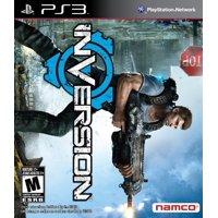 Inversion, Namco, PlayStation 3, 722674110310