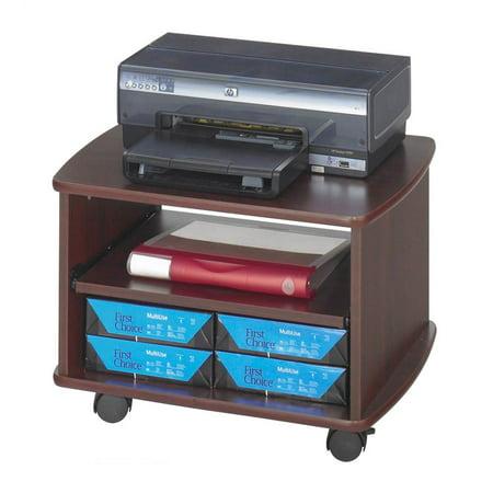 - Picco Duo Printer Stand in Mahogany Finish