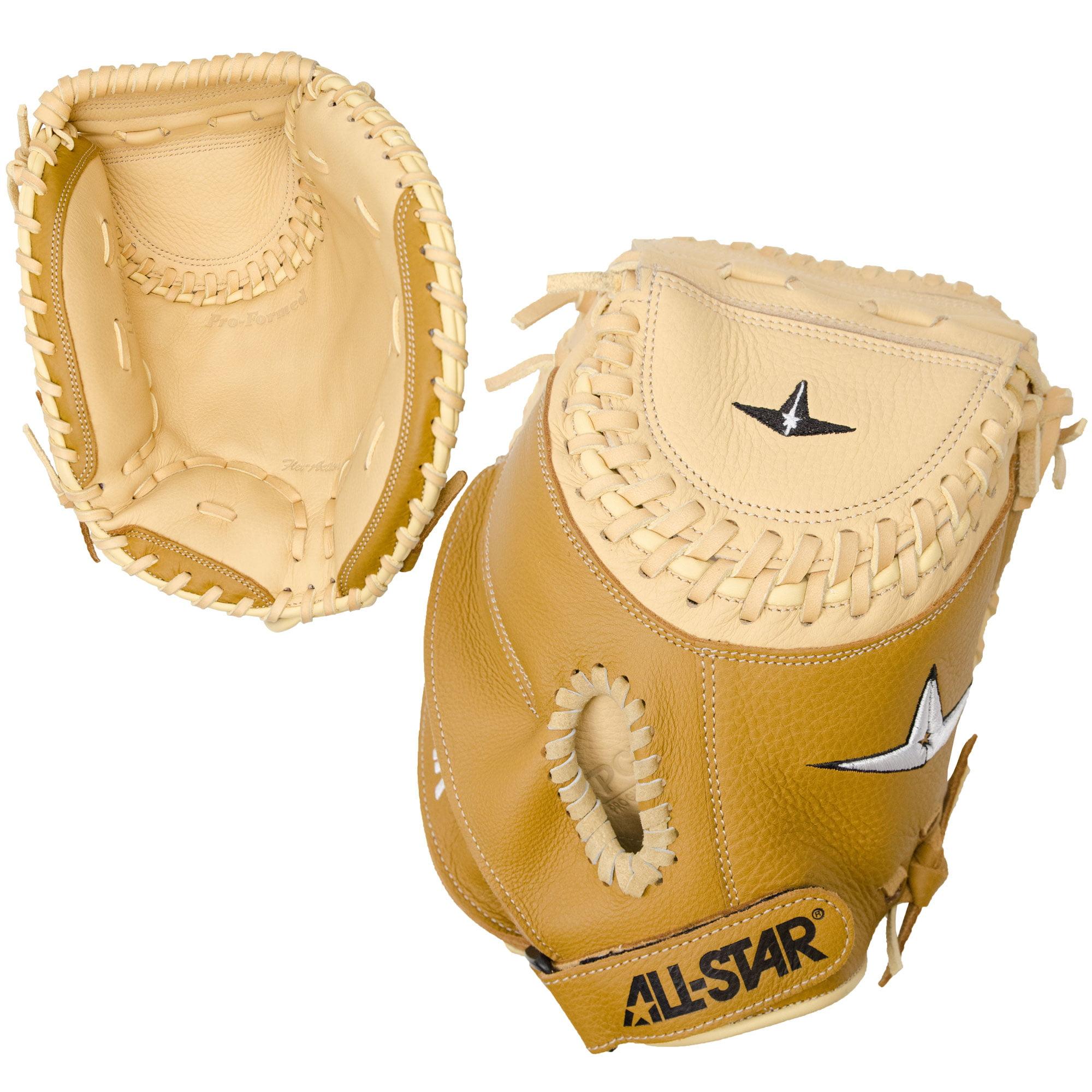 "All-Star 33.5/"" Adult Baseball Catcher/'s Mitt Throws Right /& Left"
