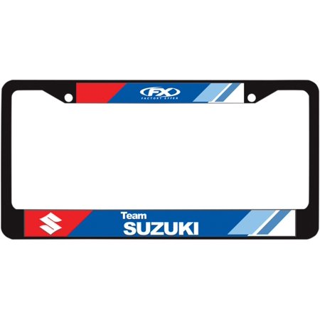 - FACTORY EFFEX-APPAREL License Plate Frame   Suzuki 19-45400