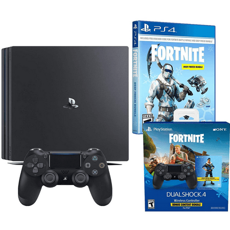 645c392f0df93 Playstation 4 Pro Fortnite Frostbite and Royale Bomber Cosmetic Bundle   1500 V-Bucks