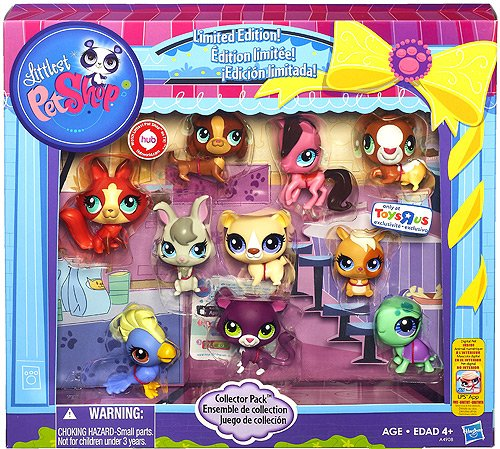 Hasbro Littlest Pet Shop Limited Edition Collector's 10-P...
