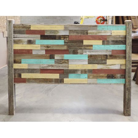 AllBarnWood Reclaimed Wood Queen Sized Bed Headboard