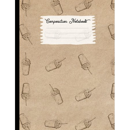 Whipped Vodka Halloween Drinks (Composition Notebook: College Ruled Blank Lined Journals for School - Whipped Cream)