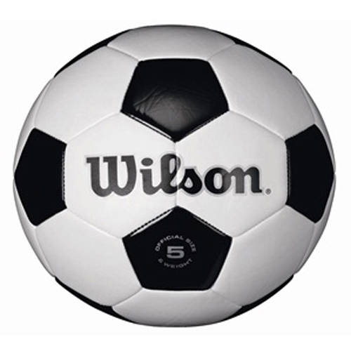 Wilson Traditional Black/White Soccer Ball
