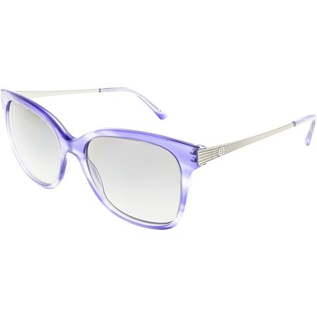 Giorgio Armani Women's Polarized AR8074-548711-54 Blue Square Sunglasses ()