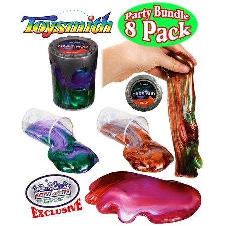 Toysmith Mars Mud Slimeputty Complete Gift Set Party Bundle 8