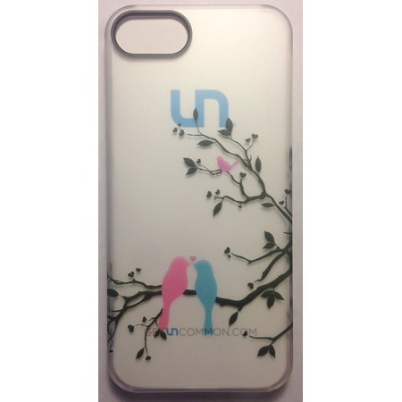 - Uncommon LLC Forever Birds Clear Frosted Deflector Hard Shell Case Cover for iPhone 5 / 5S - Retail Packaging