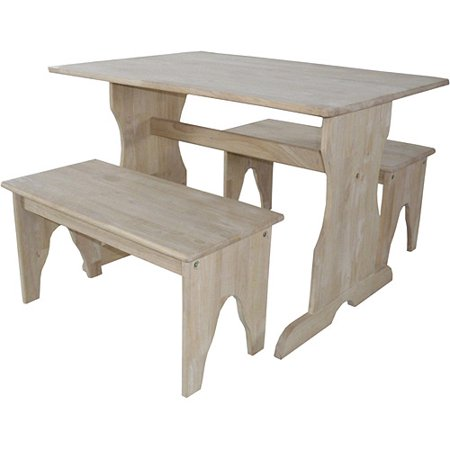Inc Concepts Kids Play Table Benches Unfinished