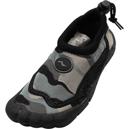 d0d927e4f849 NORTY - Norty Childrens Boys Girls Skeletoe Five Toe Kids Pool Aqua Sock Water  Shoes