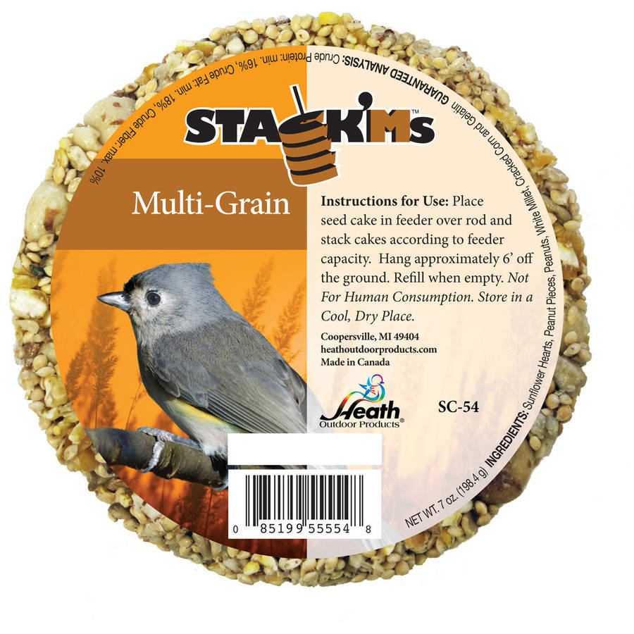 Heath Outdoor Products Stack'Ms Multi-Grain Seed Cake