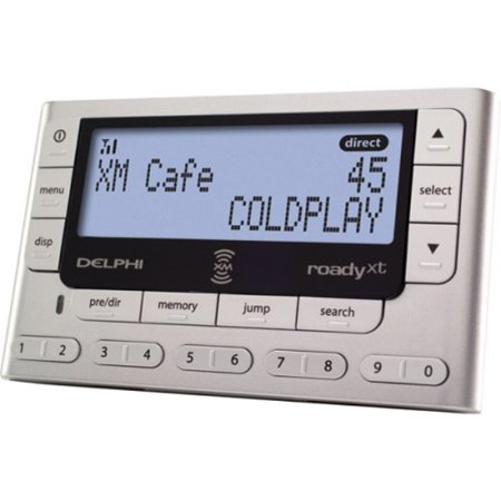 delphi xm roady xt satellite radio receiver