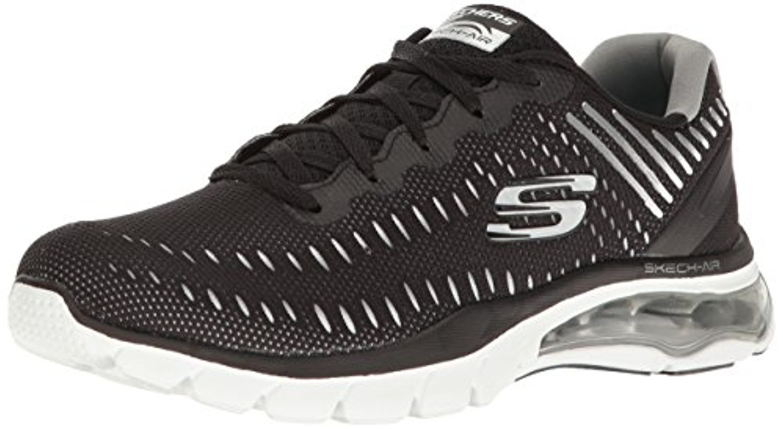 12300 Black Skechers Shoes Memory Air Foam Women Mesh Sport Air Memory Cushion Comfort New 12300BKW 155a35