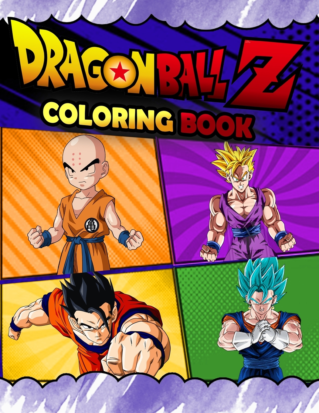 - Dragon Ball Z Coloring Book : Dragon Ball Z Jumbo Coloring Book With  Amazing Images For All Ages (Paperback) - Walmart.com - Walmart.com