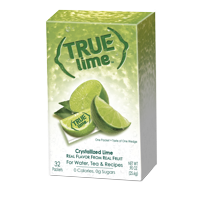 (64 Packets) True Lime Drink Mix, 0.90 oz