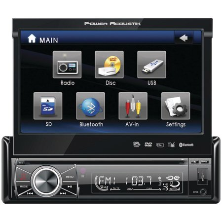 power acoustik ptid 8920b 7 single din in dash flip up source power acoustik ptid 8920b 7 single din in dash flip up