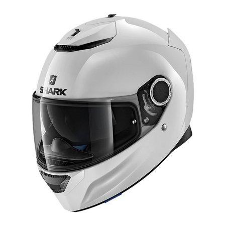 Shark Spartan Blank Motorcycle Helmet White (Spartan Helmet)