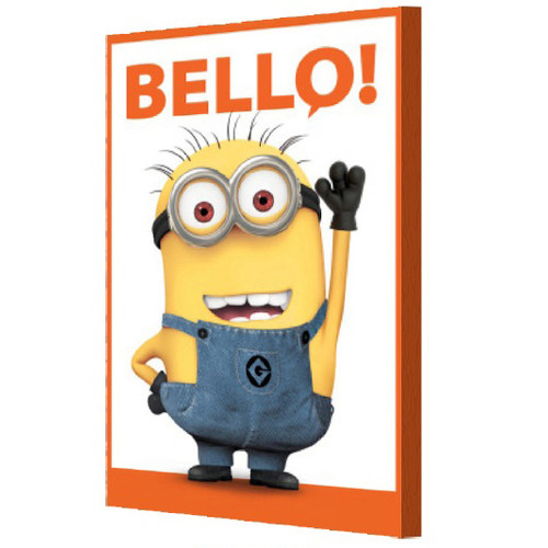 Pyramid America Minions 'Bello' Graphic Art on Canvas