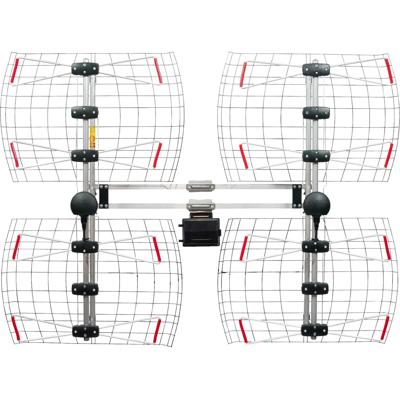 Antennas Direct Db8e Extreme Range Multi Directional Bowtie Uhf 8 Bay Antenna Wiring Diagram