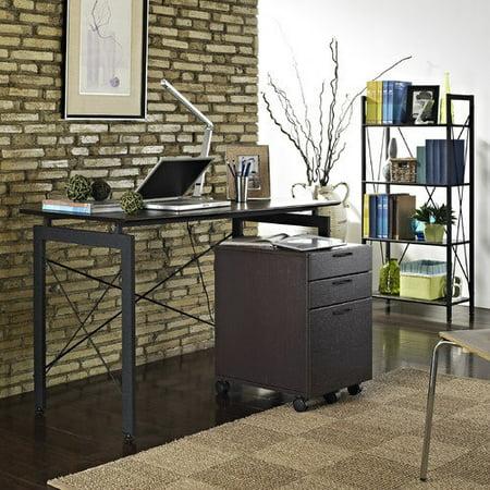 Altra Furniture 3 Piece Home Office Collection Espresso