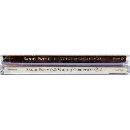 Sandi Patty The Voice of Christmas Set Vol. 1 & 2 CDs