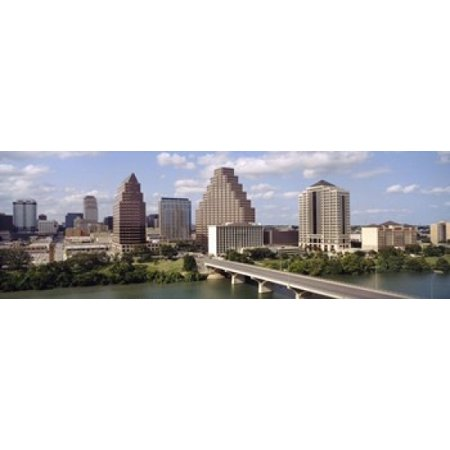 Buildings in a city Town Lake Austin Texas USA Canvas Art - Panoramic Images (18 x - Party City In Austin Texas