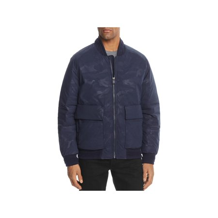 Andrew Marc Mens Lodge Winter Camouflage Bomber Jacket ()