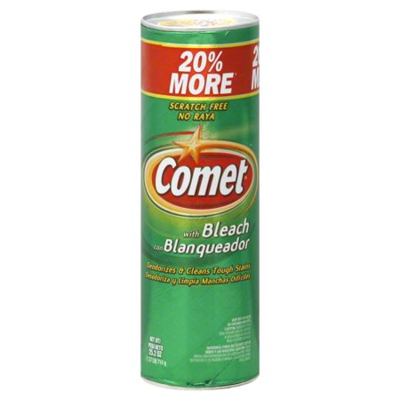 Comet® All Purpose Cleaner w/Bleach 25.2OZ Powder - Walmart.com
