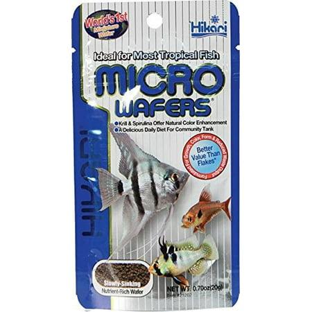 Hikari Micro Wafers Tropical Fish Food, 0.7 Oz (Hikari Micro Wafers)