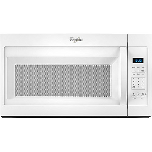 Whirlpool WMH31017FW WMH31017FW 1.6 Cu. Ft. Black Over-the-Range Microwave
