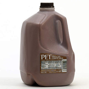 PET Low Fat Chocolate Milk, 128 oz