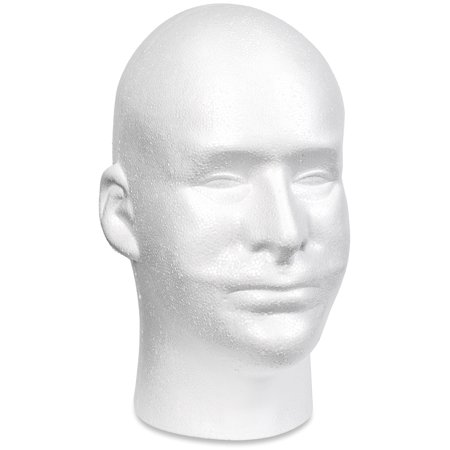 "Make It Fun Styrofoam 11"" X 6.5"" X 8.5"" Head Bulk, 1 Each"