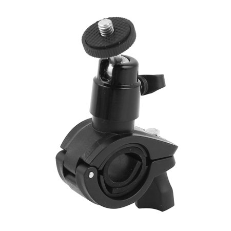 Digital Camera Swivel Ball Head Bicycle Handlebar Holder Mount Bracket Black