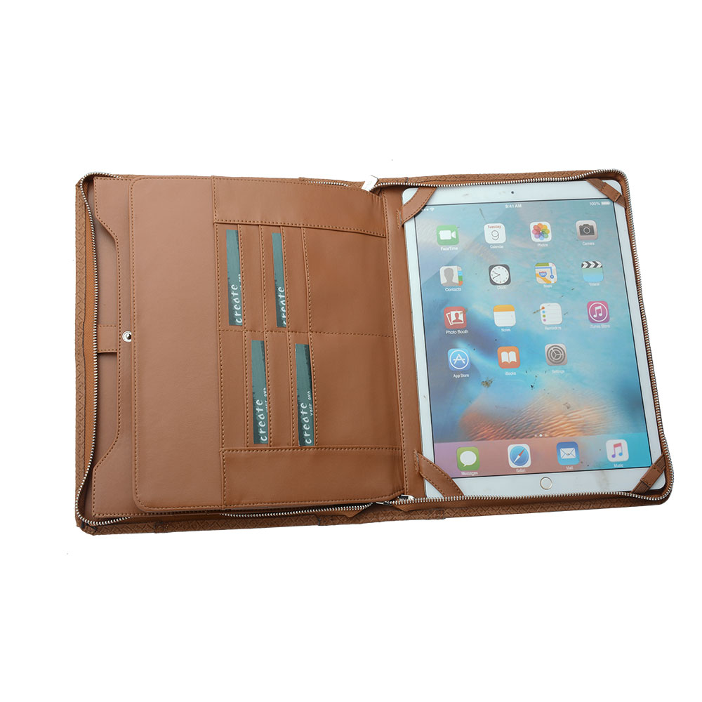 Executive Diamond-Weave Letter / A4 Organizer Folio, for 12.9-inch iPad Pro