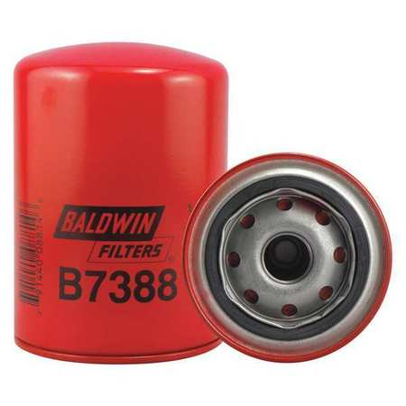 "Oil Fltr,Spin-On,5-3/8""x3-11/16""x5-3/8"" BALDWIN FILTERS B7388"