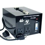 Goldsource 2000w Voltage Converter Step-up and Step-down Voltage Transformer, STU-2000 - 2000 Watt