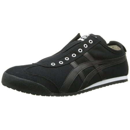best service c2f09 55077 Asics D3K0Q-9090 : Mexico 66 Mens Black Black Sneakers (12 D(M) US Men)
