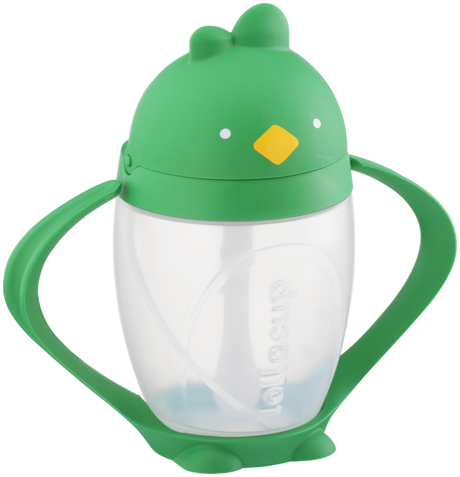 Lollaland Lollacup Good Green Innovative Straw Sippy Cup