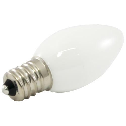 American Lighting LLC Frosted E12/Candelabra LED Light Bulb (Set of 25)