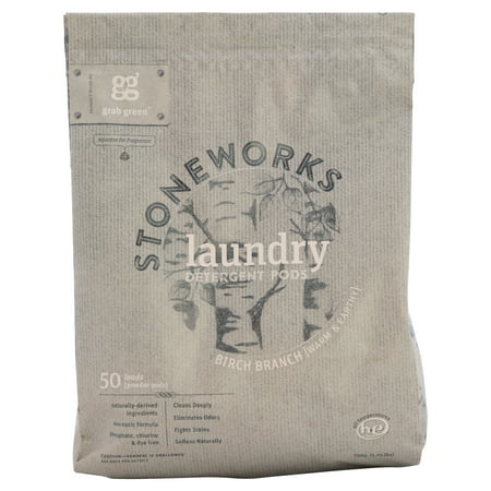 Grab Green Natural Stoneworks Laundry Detergent Pre