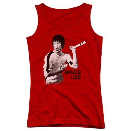 Bruce Lee Martial Arts Nunchucks Juniors Tank Top Shirt - Nunchucks Martial Arts