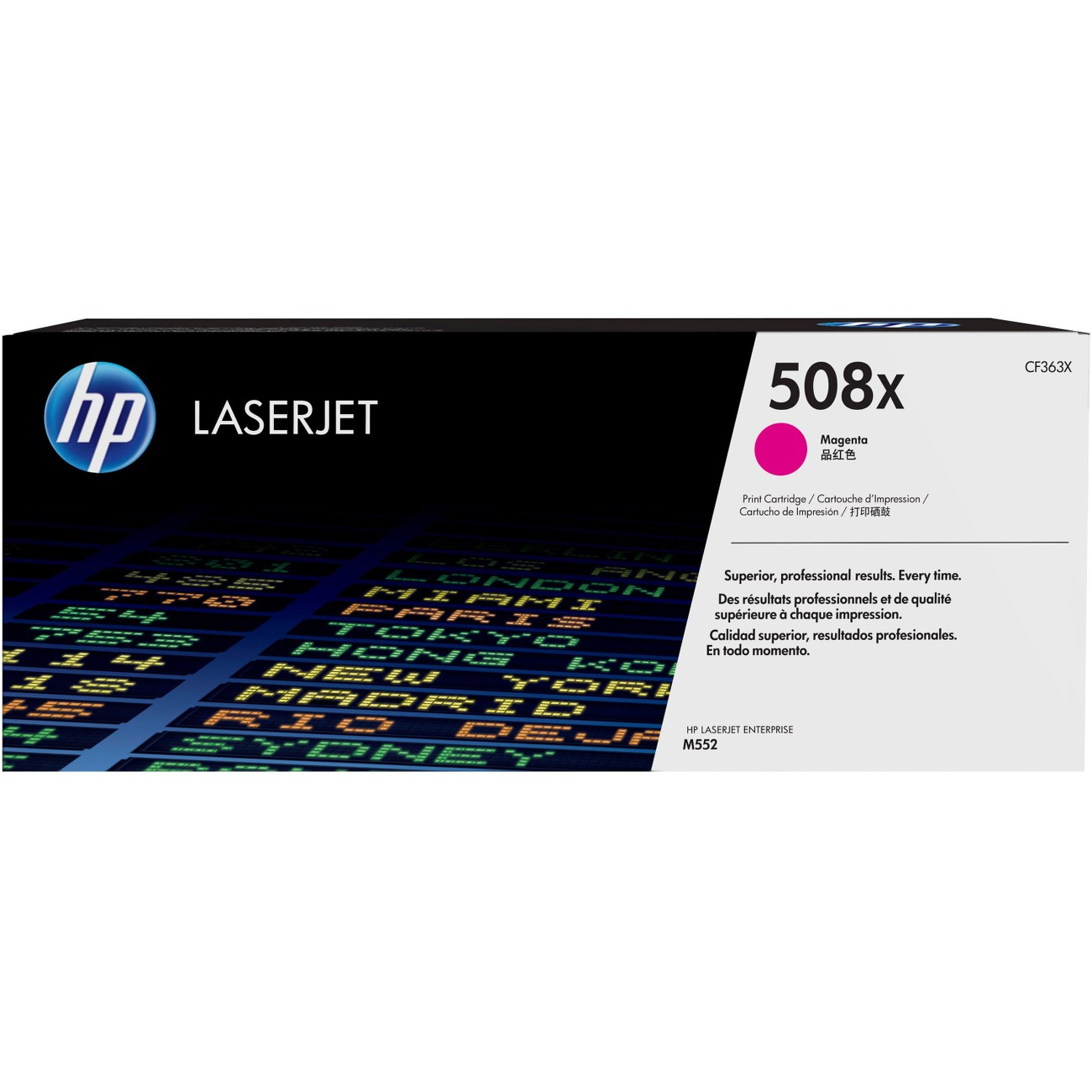 HP 508X (CF363X) Magenta High Yield Original LJ Toner Cartridge