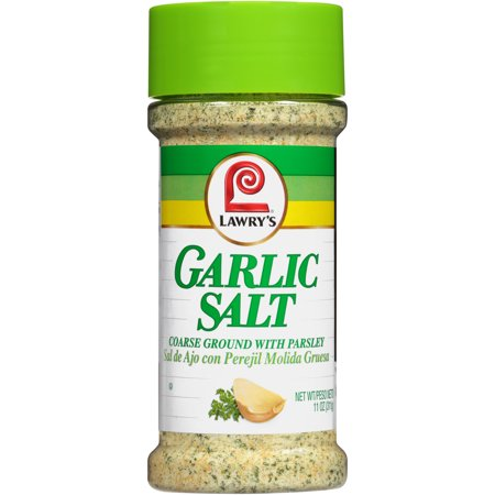 (3 Pack) Lawry's Garlic Salt, 11 oz - Garlic Edamame Recipe