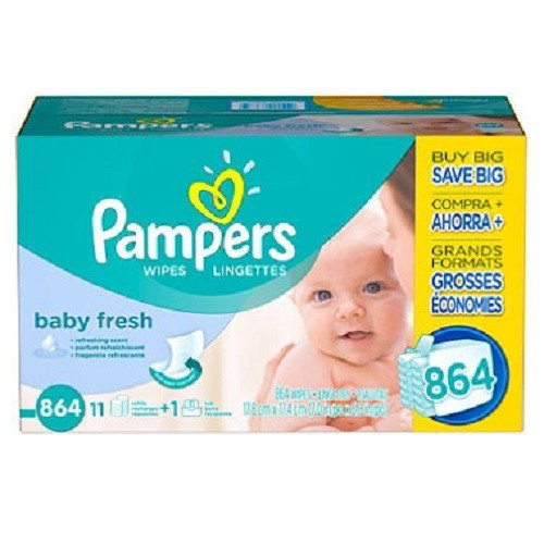 Pampers Baby Fresh Baby Wipes (864 ct.) by Pampers