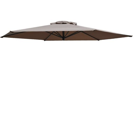 Replacement Patio Umbrella Canopy Cover For 11 5ft 8 Ribs Taupe Only