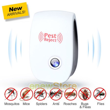 Electronic Ultrasonic Pest Repeller,Pest Reject Mosquito Cockroach Mouse Ant Killer,Pest Control,Home & Outdoor Pest Repeller - Cockroach Giant Latex