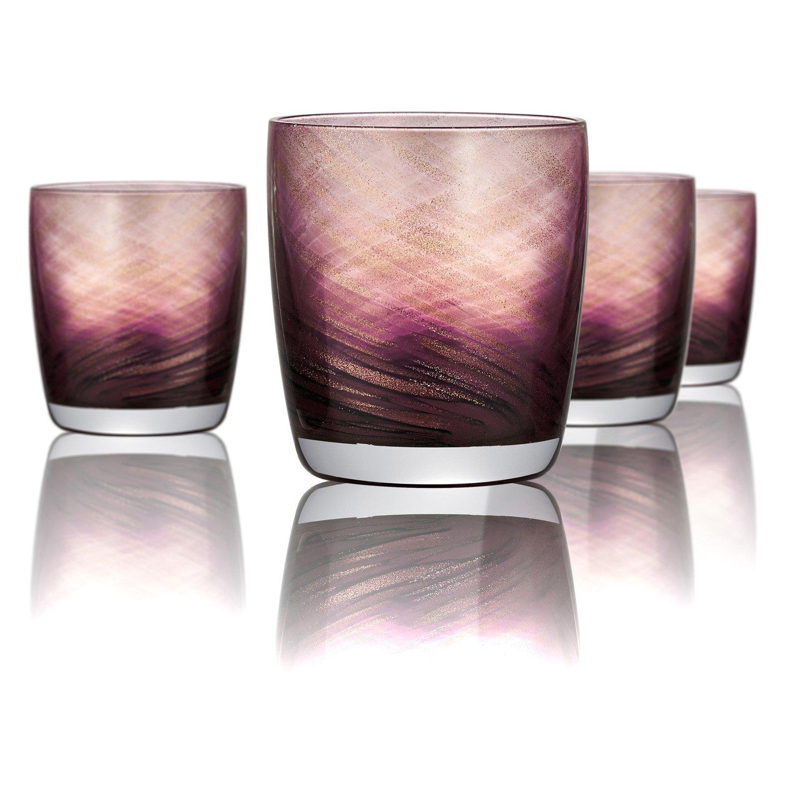 Artland Misty DOF Glasses - Set of 4