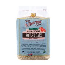 Bob's Red Mill Quick Cooking Rolled Oats Organic