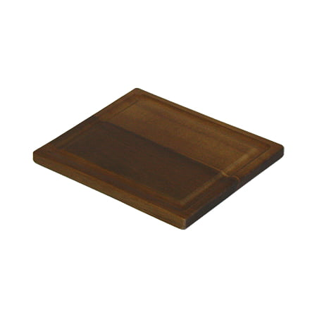 Organic Edge-Grain Hardwood Acacia Cutting Board, with Juice groove, Best Kitchen chopping Board (Butcher Block) for Meat, Cheese, and Vegetable Serving Tray, 7.5